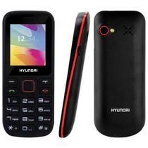 "Celular Hyundai D245 Dual Sim Tela 1.77"" Radio FM/Bluetooth/MP3/Slot Microsd-Preto"