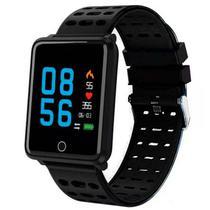 Smartwatch Midi MD-F21 para Atividades Fisicas com Bluetooth - Preto