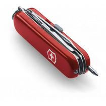 Victorinox Midnight Manager Red Canivete Suizo com Lanterna 6 Funcoes