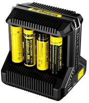 Carregador de Bateria Inteligente Nitecore i8