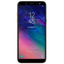 """Celular Samsung Galaxy A6+ A605G 32GB / 4G Lte / Single Sim / Tela 6.0"""" / Cameras 16MP e 24MP - Dourado"""