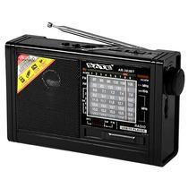Radio Portatil Satellite AR-303BT AM / FM / Bluetooth / Lanterna LED - Preto