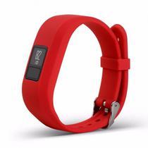 Puls 4LIFE Garmin VIVOFIT3 Silicone Tpu+Tpe s Red