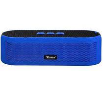 Caixa de Som Portatil X-Tech XT-SB541 com Bluetooth/ USB/ Microsd/ Aux/ FM - Azul