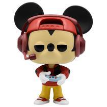 Boneco Funko Pop Disney Mickey's 90TH Birthday - Gamer Mickey 471 (Edicao Limitada)