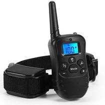 Coleira Eletronica M81N para Adestramento de Cachorro com Controle - Preto