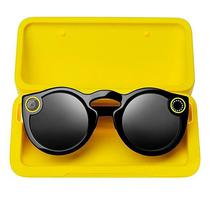 Oculos Snapchat Spectacles para Dispositivos Moveis Ios e Android - Preto