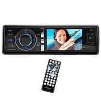 """Toca DVD Automotivo Powerpack CADV-315.BL Tela 3.0"""" com Bluetooth/USB/TV - Preto"""