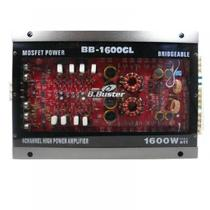 Amplificador B.Buster 4CH BB-1600GL Stereo 1600W