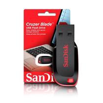 Pendrive Sandisk Z50 Cruzer Blade 64 GB - Preto