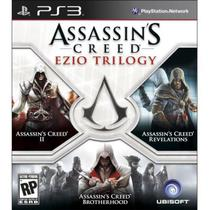 Jogo Assassins Creed Ezio Trilogy PS3