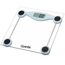Balanca Digital para Peso Corporal Quanta QTBL08 Ate 180KG - Transparente
