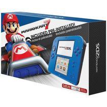 Console Nintendo 2DS Azul com Mario Kart 7