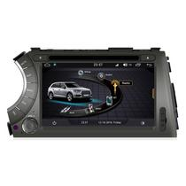 """Central Multimidia Winca Ssangyong Kiron/Actyon Sports L158D 7"""" 2DIN S170"""