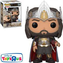 Boneco Funko Pop Lord Of The Rings Exclusive - King Aragorn 534