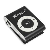 Reprodutor MP3 X-Tech XT-MP501 com Leitor de Cartao Micro SD - Preto