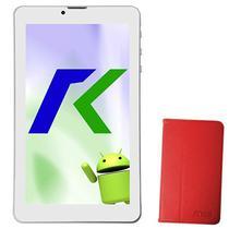 """Tablet Keen A88 8GB / Tela de 7"""" / Cameras 2MP e VGA / com Capa - Vermelho"""