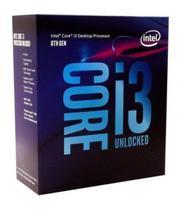 Processador Intel i3 8100 3.6GHZ 6MB 1151 Box 8A G.