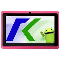 "Tablet Keen A78 7.0"" Wifi 2MP VGA Os 4.4.2 Rosa com Capa"