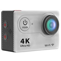 Camera Action Sport Authentic H9 4K HD Wifi 2&Quot; - Prata