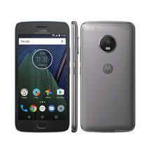 Smartphone Motorola Moto G5 Plus XT1685 32GB Lte Dual Sim Tela 5.2 Cam.12MP+5MP-Grafitte