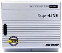 Amplificador Roadstar RS-4100DC Class 4 Canais 1000W