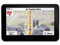 GPS Foston FS-3D717 7 4GB TV Digital de Isdb-T Mapa Em 3D Preto/Azul