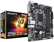 Placa Mãe Gigabyte LGA1151 Z370M DS3H M.2/DVI/HDMI