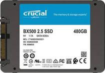 """HD SSD de 480GB Crucial 2.5"""" BX500 CT480BX500SSD1 - Solid State Drive"""