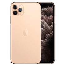 """Apple iPhone 11 Pro Max Swap 64GB 6.5"""" 12+12+12/12MP Ios - Dourado (Grado A)"""