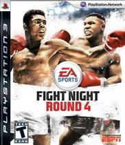 Jogo Fight Night Round 4 PS3