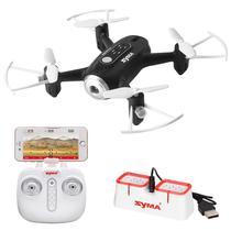Drone Syma X22W - Wi-Fi FPV - Preto