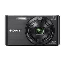 "Câmera Digital Fotografica Sony DSC-W830 Tela 2.7"" de 20.1MP HD X8 Zoom Optico - Preto"