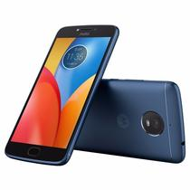 Smartphone Motorola E4 Plus XT1772 1 Sim Lte 5.5 HD 2GB/16GB 13MP+5MP Azul