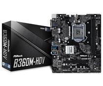 Placa Mãe Asrock LGA1151 B360M-HDV DVI-D/HDMI/VGA