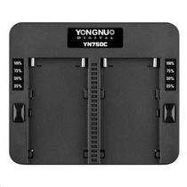 Carregador de Bateria Yongnuo YN750C para Sony Serie L