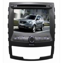 """Central Multimidia para Ssangyong Korand 2013 Aikon A159 Tela de 7"""" LCD - Preto"""