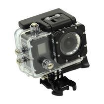 Camera Esportiva Quanta QTSC502 Ultra HD de 16MP 2 Telas com Wi Fi - Preto