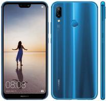 "Smartphone Huawei P20 Lite 4GB/32GB Lte Dual Sim Tela 5.84"" Cam.16MP/2MP+16MP- Azul"