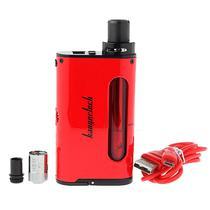 Kit Cigarro Eletronico Kangertech Cupti Vermelho + Bateria