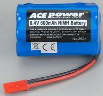 Ace Nimh 8.4V 600MAH Battery 2924