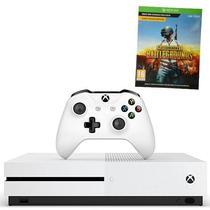 Console Xbox One s de 1TB Microsoft 1681 Bivolt + Jogo Pubg - Branco