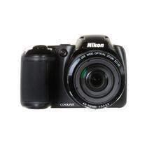 Câmera Digital Nikon Coolpix L340 20MP/28X Preto