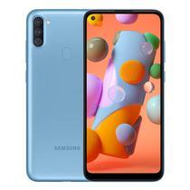 Smartphone Samsung Galaxy A11 SM-A115M DS 2/32GB 6.4 13+2+5/8MP A10 - Azul