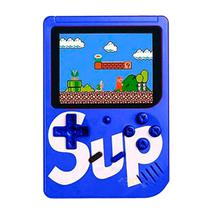 Console Mini Game Retro Portatil Sup Boy Game Box 400 In 1 Azul