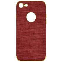 Case iPhone 7/8 Wesdar - Vermelho/Dourado