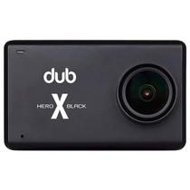 "Camera de Acao Dub Hero X Black 2.5"" Touch 4K Preto"