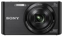 Camera Digital Sony DSC W-830 20.1 MP 8X Preto