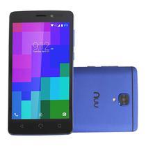 """Smartphone Nuu A3 5.0"""" 8GB 1GB Ram Dual 3G Azul"""