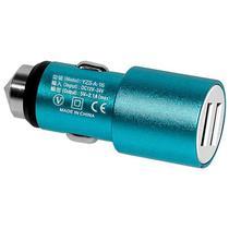 Carregador Veicular USB X-Tech XT-CC23 2 Saidas USB - Azul